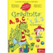 Gradinita ABC si 123 ( editura: Tiparg , autor: Vasile Molan ISBN 973-7734-70-x )