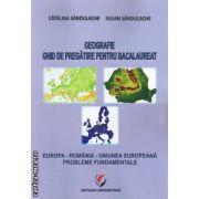 Geografie ghid de pregatire pentru bacalaureat ( editura: Universitara, autori: Catalin Sandulache, Iulian Sandulache ISBN 978-606-591-338-7 )