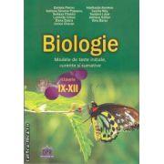 Biologie: modele de teste initiale, curente si sumative clasele 9 - 12 ( editura: Didactica Publishing House, autor: Sultana Chebici ISBN 978-606-8400-06-8 )