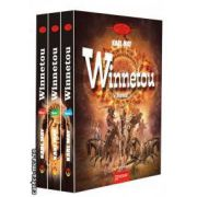 Winnetou (3 volume), ( editura: Gramar, autor: Karl May ISBN 978-973-1973-63-0 )