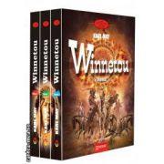 Winnetou (3 volume), ( editura: Gramar, autor: Karl May ISBN 978-973-1973-63-0 )