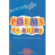 Poems to enjoy ( editura: Macmillan , autori: Anne El-Bolkany , Su Taher ISBN 978-0-333-73328-8 )