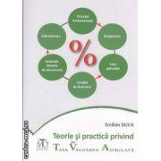 Teorie si practica privind taxa pe valoarea adaugata ( editura: Monitorul Oficial , autor: Emilian Duca ISBN 978-973-567-782-4 )