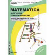 Matematica : Olimpiade si concursuri scolare clasa a 5-a ( editura: Nomina , autor: Nicolae Grigore ISBN 978-606-535-354-1 )