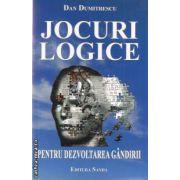 Jocuri logice pentru dezvoltarea gandirii ( editura: Sanda , autor: Dan Dumitrescu ISBN 978-606-92679-6-7 )