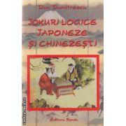 Jocuri logice japoneze si chinezesti ( editura: Sanda , autor: Dan Dumitrescu ISBN 978-606-92679-4-3 )