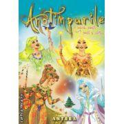 Anotimpurile in legende, povesti, poezii si cantece ( editura: Anteea , autor: Lucia Cocisiu ISBN 978-973-1948-15-7 )