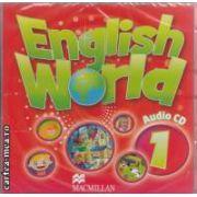 English World Audio CD 1 ( editura: Macmillan, ISBN 978-0-230-02450-2 )