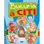 Bucuria de a citi : caiet de lectura pentru clasa a 2 - a ( editura : Tiparg , coord : Marinela Chiriac , ISBN 978-973-735-611-6 )