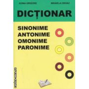 Dictionar de sinonime , antonime , omonime , paronime ( editura : Ars Libri , autori : Adina Grigore , Mihaela Crivac ISBN 978-606-8088-74-7 )