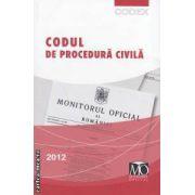 Codul de procedura civila  editia iunie 2012 ( editura : Monitorul oficial , ISBN 978-973-567-799-2 )