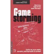 Game storming : carte de jocuri pentru inovatori, nonconformisti si vizionari ( editura : Paralela 45 , autor : Dave Gray , Sunni Brown , James Macanufa ISBN 978-973-47-1443-8 )