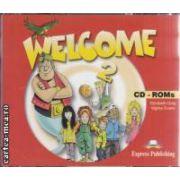 Welcome 2 CD - ROM ( editura : Express Publishing , autor : Elisabeth Gray , Virginia Evans ISBN 978-1-84216-142-5 )