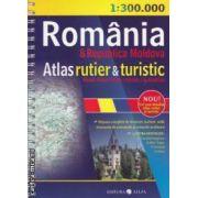 Romania si Republica Moldova Atlas rutier si turistic ( editura : All , autor : Constantin Furtuna  ISBN :978-973-724-449-9 )
