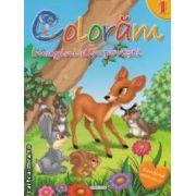 Coloram imagini din povesti nr 1 ( editura : Girasol ISBN 978-606-525-231-8 )