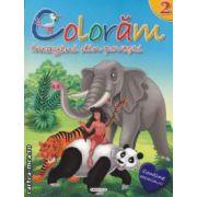 Coloram imagini din povesti nr 2 ( editura : Girasol , ISBN 978-606-525-232-5 )