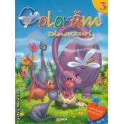 Coloram dinozauri nr 3 ( editura : Girasol , ISBN 978-606-525-233-2 )