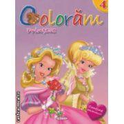 Coloram printese nr 4 ( editura : Girasol , ISBN 9786065252349 )