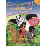 Colorati cu abtibilduri imaginile din povesti nr 2 ( editura : Girasol , ISBN 9786065252370 )
