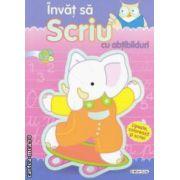 Invat sa scriu cu abtibilduri ( editura : Girasol , ISBN 978-606-525-230-1 )