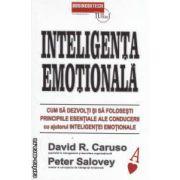 Inteligenta emotionala - Cum sa dezvolti si sa folosesti principiile esentiale ale conducerii cu ajutorul inteligentei emotionale ( editura : Businesstech , autori : David R . Caruso , Peter Salovey ISBN 978-973-8495-67-8 )