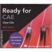 Ready for CAE Class CDs ( editura: Macmillan, autori: Roy Norris, Amanda French ISBN 978-0-230-02891-3 )
