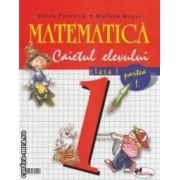 Matematica clasa a I - a , caietul elevului , partea I + II  (editura : Aramis , autori : Stefan Pacearca , Mariana Mogos 973-679-111-4 )