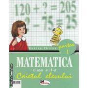 Matematica clasa a II - a , caietul elevului : partea I + partea II ( editura : Aramis , autor : Rodica Chiran ISBN 973-679-115-7 )