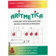 Aritmetica: probleme tipice rezolvate prin mai multe metode si procedee, culegere pentru elevii claselor a III - a VI - a ( editura: Euristica, autori: Dumitru D. Paraiala, Viorica Paraiala, Cristiana - George Paraiala ISBN 973-7819-19-7 )
