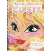 Agenda fetelor cu stil : agenda scolara permanenta ( editura : Girasol , ISBN 978-606-525-180-9 )