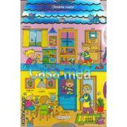 Cuvinte despre: Casa mea ( editura: Girasol, Ilustratii: Carmen Busquets ISBN 978-606-525-214-1 )