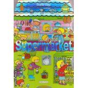 Cuvinte despre: Supermarket ( editura: Girasol, Ilustratii: Carmen Busquets ISBN 978-606-525-215-8 )