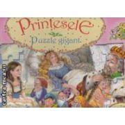 Printesele : Puzzle gigant ( editura : Girasol , ilustratii : Carmen Guerra ISBN 978-606-525-030-7* )