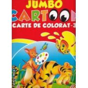Jumbo cartoon , carte de colorat 3 ( editura : All , ISBN 978-606-93161-2-2 )