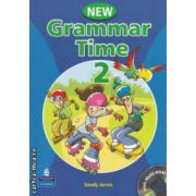 New Grammar Time 2 + CD ( editura: Longman, autor: Sandy Jervis ISBN 978-1-4058-6698-9 )