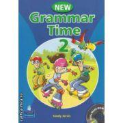 New Grammar Time 2 + CD ( editura: Longman, autor: Sandy Jervis ISBN 978-1-4058-6698-9 )