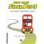 Here Comes Super Bus 3: Teachers Resource Pack ( editura: Macmillan, autor: Maria Jose Lobo, Pepita Subira ISBN 978-0-333-93185-1 )