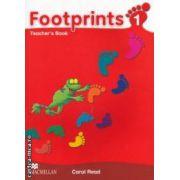 Footprints 1 Teachers Book ( editura: Macmillan, autor: Carol Read ISBN 978-0-2307-2214-9 )