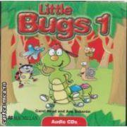Little Bugs 1 Class Audio CD ( editura: Macmillan, autori: Carol Read and Ana Soberon ISBN 978-1-4050-6154-4 )