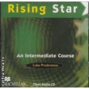 Rising Star An Intermediate Course Class Audio CD ( editura: Macmillan, autor: Luke Prodromou ISBN 978-0-230-72958-2 )