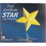 First Certificate STAR Audio CD ( editura: Macmillan, autor: Luke Prodromou ISBN 978-0-2307-2511-9 )