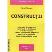 Constructii ( editura: Morosan, autor: Daniel Mircescu ISBN 978-606-8033-83-9 )
