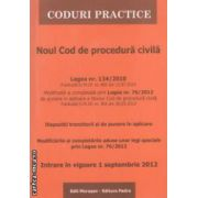 Noul Cod de procedura civila REPUBLICAT ( editura : Morosan , ISBN 9786068033808 )