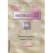 Matematica - manual pentru clasa a V - a ( editura : Radical , autor : George Turcitu , Niculae Ghiciu ISBN 978-973-8386-33-4 )