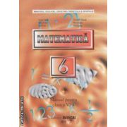 Matematica - manual pentru clasa a VI - a ( editura : Radical , autori : George Turcitu , Constantin Basarab ISBN 9789738386358 )