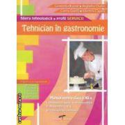 Tehnician in gastronomie : manual pentru clasa a XII - a , filiera tehnologica - profil servicii ( editura : CD Press , autor : Constanta Brumar , Anghelina Dudan  ISBN 978-606-528-125-7 )