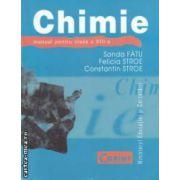 Chimie manual pentru clasa a VIII - a ( editura : Corint , autori : Sanda Fatu , Felicia Stroe , Constantin Stroe ISBN 978-973-135-296-1 )