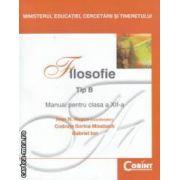 Filosofie Tip B - manual pentru clasa a XII - a ( editura : Corint , coordonator : Ioan N . Rosca ISBN 978-973-351-7 )