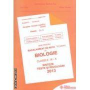 Ghid pentru bacalaureat de nota 10 la: Biologie: clasele IX - X: sinteze, teste si rezolvari 2013 ( editura: Gimnasium, coordonator: Stelica Ene, ISBN -978-973-7992-50-5- )
