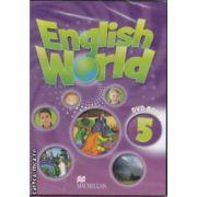 English World 5 DVD - ROM ( editura: Macmillan, ISBN 978-0-230-03228-6 )